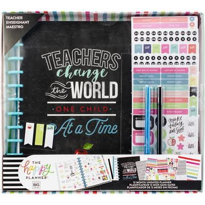 MAMBI The BIG Happy Planner Boxed Kit - Teachers Change The World Undated
