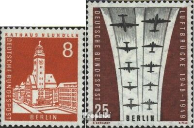 Berlin (West) 187,188 (complete issue) unmounted mint / never hinged 1959 Berlin
