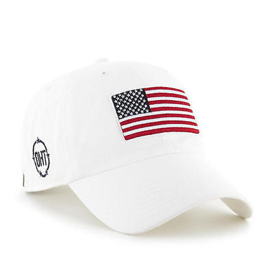 ebbb215bf6ea8 Operation Hat Trick OHT 47 Brand Strap White USA Adjustable Dad Cap Hat  Clean Up