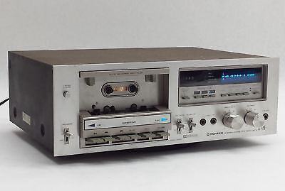 Vintage Pioneer Ct-F750 Auto-Reverse Stereo Tape Deck Cassette Rec Player Parts