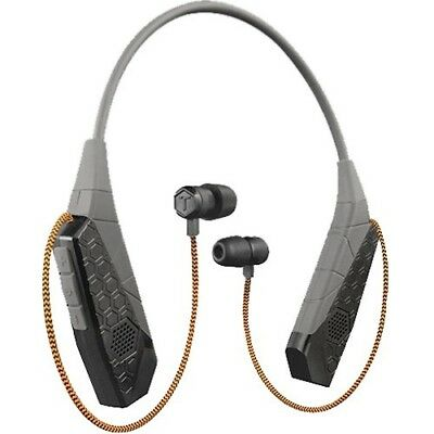 Tough Tested Pro-Comm Neckband Bluetooth With 10x Noise Canceling and Speaker Mo