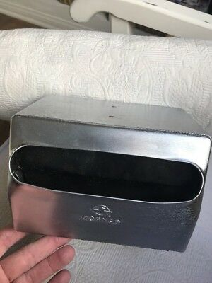 NEW Mornap All Chrome Napkin Dispenser