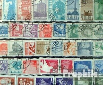 Romania 250 different stamps