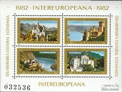 Romania block187 (complete issue) unmounted mint / never hinged 1982 INTEREUROPA