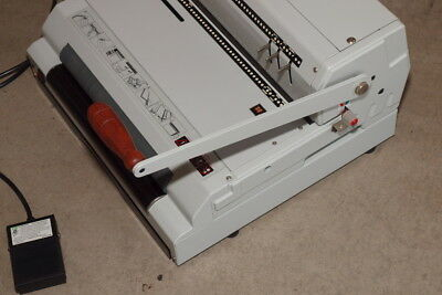 Akiles CoilMac 41-ECI, Coil Binding Machine & Punch & Inserter, See 20 Pictures!