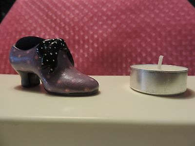 Khien Miniature Hand Painted Shoe. Pin Cushion.