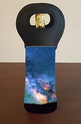 Milky Way Stars Wine Bottle Cooler Bag