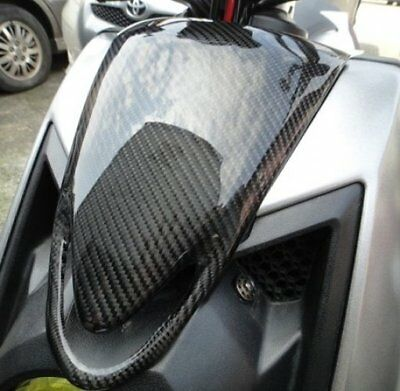 Carbon Fiber Front Mask Cover For Yamaha ZUMA 125 (2015) BWX X 125 YW125