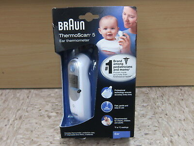 Braun IRT6500US ThermoScan Digital Ear Thermometer Baby Infant Kids Children New