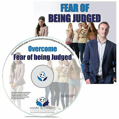 Overcome Fear Of Being Judged Self Hypnosis CD - Hypnotherapy CD to Gain ... New