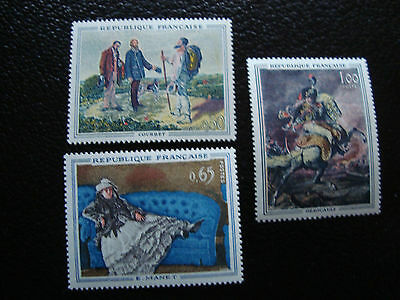 FRANCE - stamp yvert and tellier N° 1363 a 1365 n (A17) stamp french