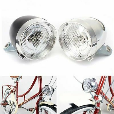 US 3 LED Bycicle Front Light Bullet Headlamp Headlight Bike Lamp Torch Lights