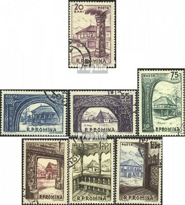 Romania 2222-2228 (complete issue) used 1963 Museum for Old Far