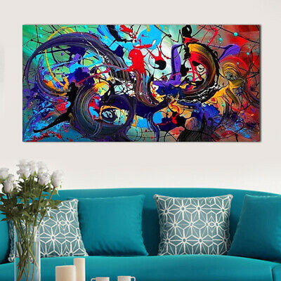 Modern Abstract Canvas Print Art Oil Painting Wall Picture Home Unframed Decor