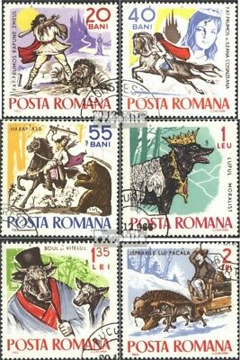 Romania 2419-2424 (complete issue) used 1965 Fairytale and Say