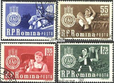 Romania 2126-2129 (complete issue) used 1963 Fight against the