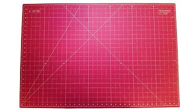 "Quilted Bear Pink Self-Healing Double Sided Quilting Cutting Mat 24"" x 36"""