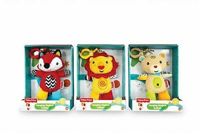 Fisher price Baby's Hanging Musical Animal Educational Toy Assorted