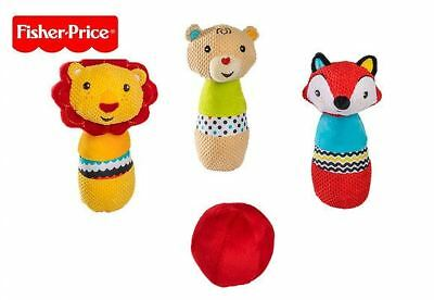 Fisher price Baby's first Soft bowling set with ball Educational toy