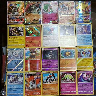 Pokemon Cards Ultimate Grab Bag bulk lot. Ultra Rare, Holo, Shiny, Rare amazing!