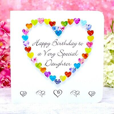 Daughter Birthday Card Happy Birthday To A Very Special Daughter