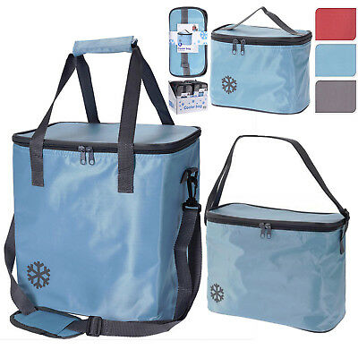 Insulated Compact Handy Cool Bag Camping Picnic Cooler Box Lunch Ice Food