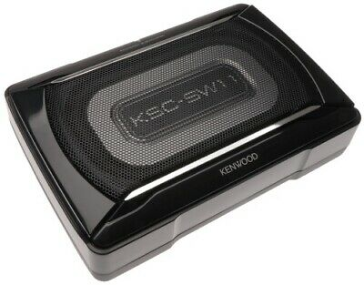 Kenwood KSC-SW11 Aktiv Subwoofer flach 150 W Untersitzbass High Level In