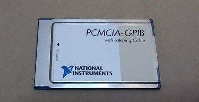NI National Instruments PCMCIA-GPIB Card only 186736C-01 (no cable) 😍 ieee 488