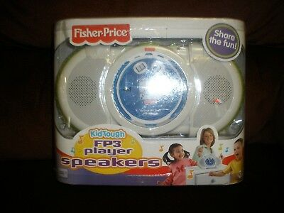 New Fisher Price Kid Tough Fp3 Player Speakers Boombox 2006
