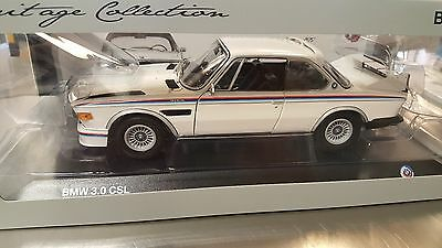 Original BMW Miniatur 3.0 CSL #25 Heritage Racing Collection 1:18 Sammlermodell