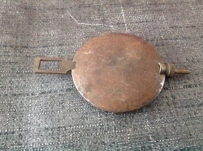 Antique Brass Pendulum 77g 43mm Diameter 70mm Long For Spare Parts
