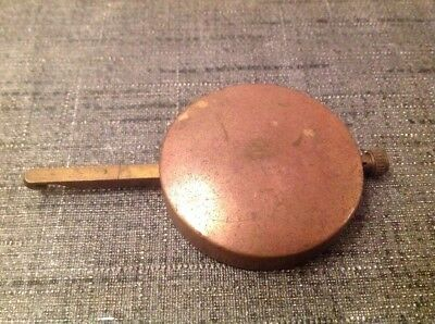 Antique Pendulum 80g 43mm Diameter 80mm Long For Spare Parts