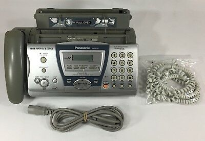 Panasonic KX-FP145 Compact Fax And Digital Answering Machine Phone Messages