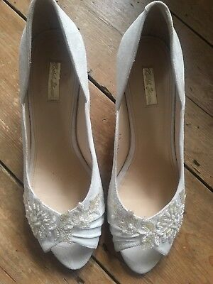 Beautiful Comfortable Rachel Simpson Wedding Shoes Size 7