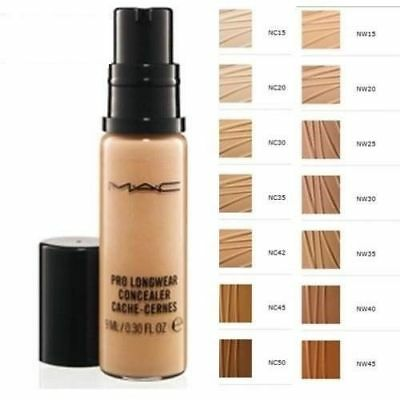 MAC Pro Longwear Concealer 0.30 oz / 9 ml New In Box Full Size - Pick Your Shade