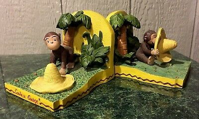 Curious George Bookends