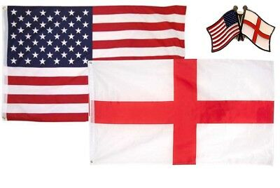 Wholesale Combo USA /& Vatican City Country 3x5 3'x5' Flag /& Friendship Lapel Pin