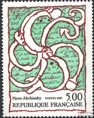 France 2519 (complete issue) used 1985 Art