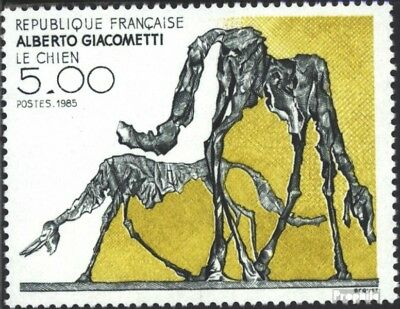 France 2524 (complete issue) used 1985 Art
