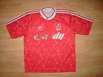 bbe15800a Vintage Liverpool 1989-1991 Home Shirt 42 44
