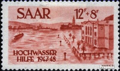 Saar 257 unmounted mint / never hinged 1948 Flood relief