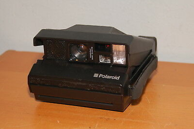 Polaroid Spectra SE System Camera Black Body Vintage