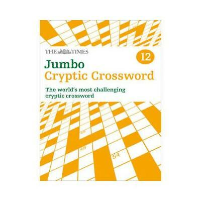 The Times Jumbo Cryptic Crossword Book 12 by The Times Mind Games (author)