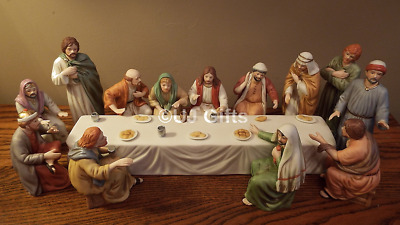 Home Interiors The Last Supper The Lords Supper Complete Set Nib