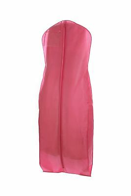 Pink Wedding Gown Travel Storage Garment Bag Breathable Durable 10 Gusset New