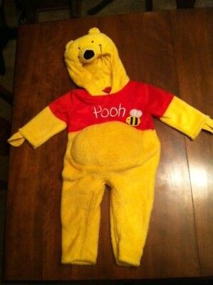 DISNEY BABY Winnie the Pooh Plush Costume SIZE 12-24 MO Halloween Boy Girl : baby winnie the pooh costume  - Germanpascual.Com