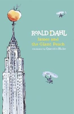 James and the Giant Peach by Roald Dahl, Quentin Blake (illustrator)