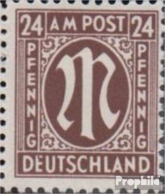 Bizonal (Allied Cast) 27VII, Fleck in e unmounted mint / never hinged 1945 on-Po