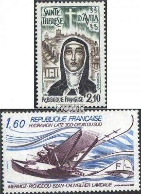 France 2369,2370 (complete issue) used 1982 special stamps