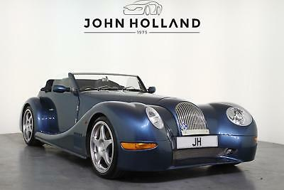 2002 Morgan Aero 8 Finished in the Desirable Flag Blue Pearl with Dark Blue Leat